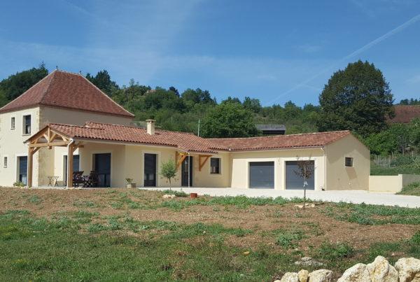 Batir, Périgord, maison, construction neuve, tour, le Bugue, Dordogne