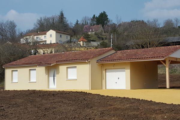 Maison neuve, Dordogne, construction, Périgord, batir