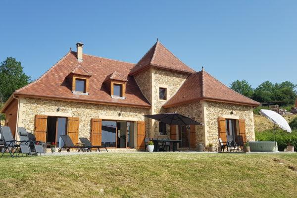 Périgourdine, Périgord noir, Dordogne, construction neuve, maison, batir