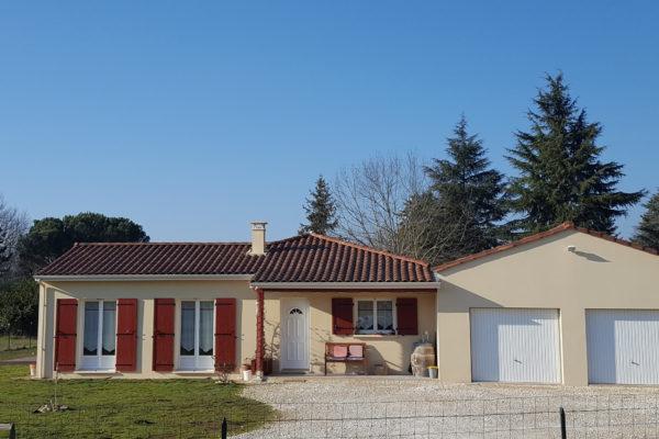 Maison neuve construction Bâtir en Périgord Dordogne Le Bugue