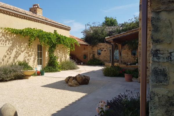 Rénovation, maison, Périgord, Dordogne