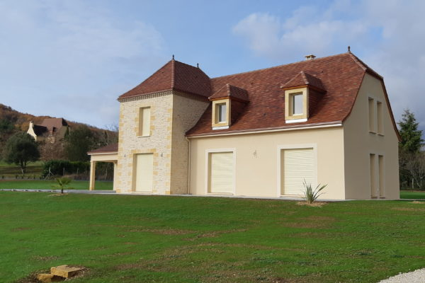 Maison neuve, dordogne, périgord, saint-cyprien